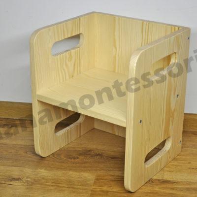 Rosnące krzesełko dla dziecka