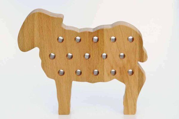 drewniana przewlekanka montessori https://polanamontessori.pl