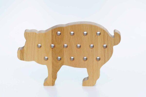 drewniana świnka montessori https://polanamontessori.pl