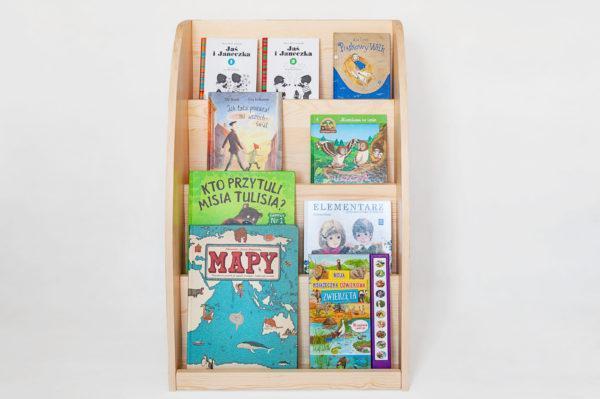pólka na książki montessori https://polanamontessori.pl