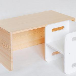 biurko montessori drewniane https://polanamontessori.pl