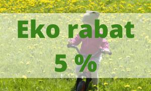Rabat na wszystkie produkty (np. meble montessori)